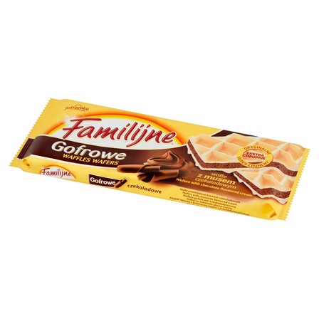 FAMILIJNE Gofrowe wafle z musem czekoladowym (1)