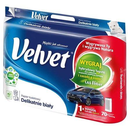 VELVET Delikatnie biały Papier toaletowy (1)