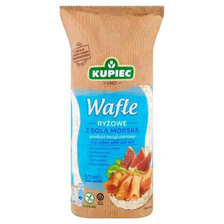 KUPIEC Wafle ryżowe z solą morską  (12 szt.) (1)