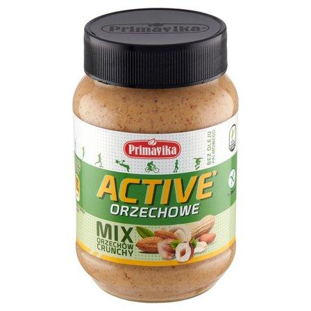 PRIMAVIKA Masło orzechowe active mix orzechów crunchy (1)