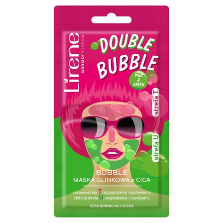 LIRENE Bubble Maska glinkowa z cica (1)