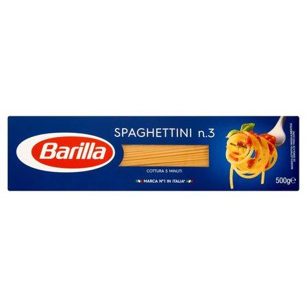 BARILLA Makaron Spaghettini  (2)