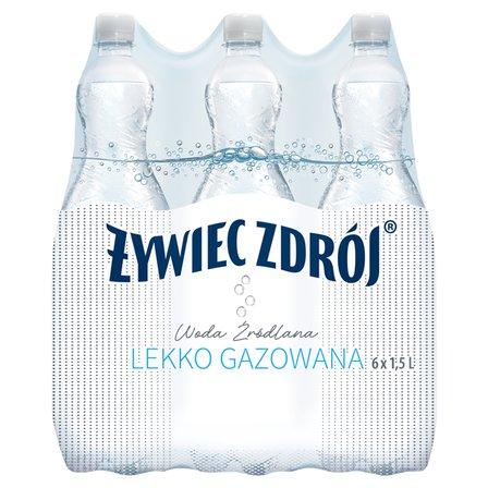 ŻYWIEC ZDRÓJ Woda źródlana lekko gazowana (6 x 1,5 l) (2)