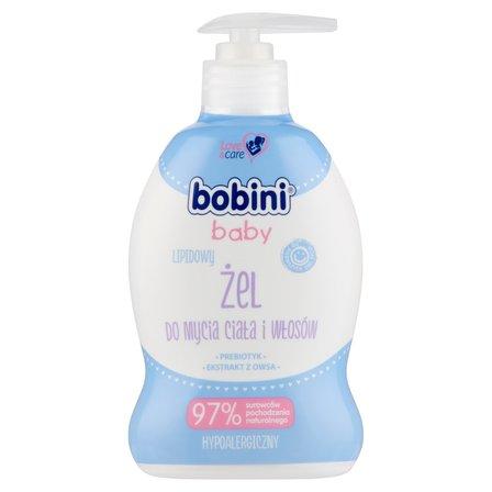 BOBINI Baby Lipidowy żel do mycia ciała i włosów (1)