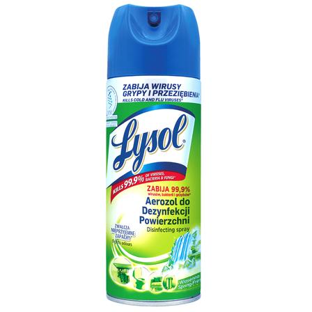 LYSOL Aerozol do dezynfekcji powierzchni wiosenna świeżość (1)