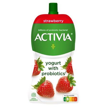 DANONE Activia Jogurt truskawkowy (1)