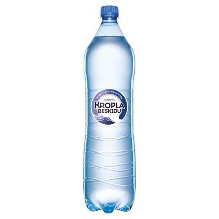 KROPLA BESKIDU Naturalna woda mineralna gazowana (1)