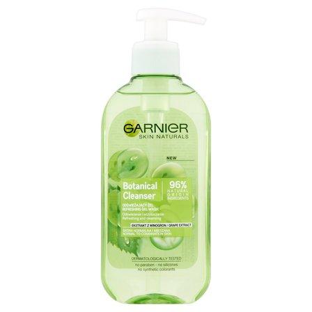 GARNIER Botanical Cleanser Ekstrakt z winogron Odświeżający żel do skóry normalnej i mieszanej (1)
