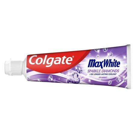 COLGATE Max White Sparkle Diamonds wybielająca pasta do zębów (1)