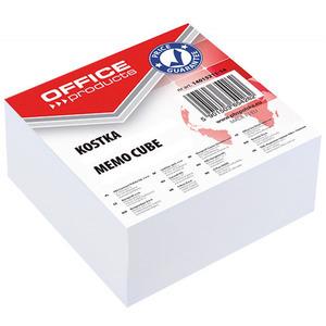 OFFICE PRODUCTS Kostka Karteczki klejone 85x85x40mm Białe (1)