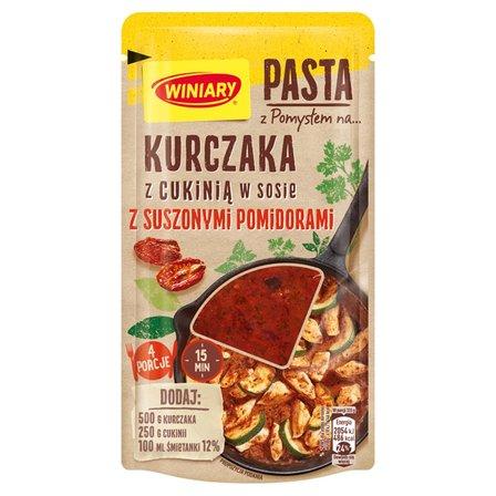 WINIARY Pasta z pomysłem na... kurczaka z cukinią w sosie z suszonymi pomidorami (1)