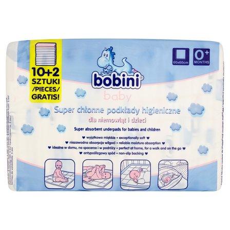 BOBINI Baby Super chłonne podkłady higieniczne dla niemowląt i dzieci (2)