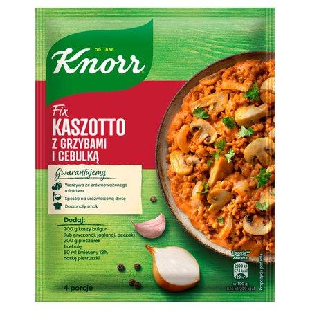 KNORR Fix Kaszotto z grzybami i cebulką (1)