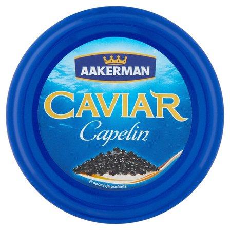 AAKERMAN Caviar Kawior czarny Capelin (2)