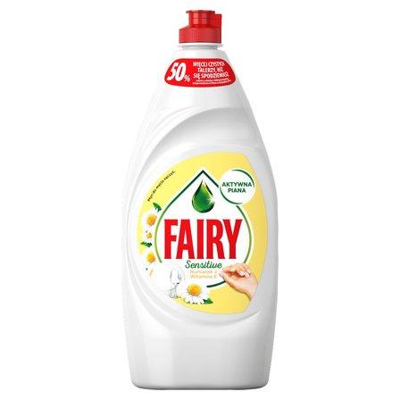 FAIRY Sensitive Rumianek z witaminą E Płyn do mycia naczyń (1)