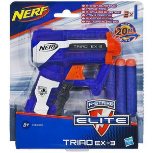 NERF N-Strike Elite A1690 Wyrzutnia Triad (8+) (1)