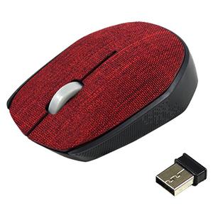 VAKOSS Mysz optyczna bezprzewodowa TM-662R czerwona (1)