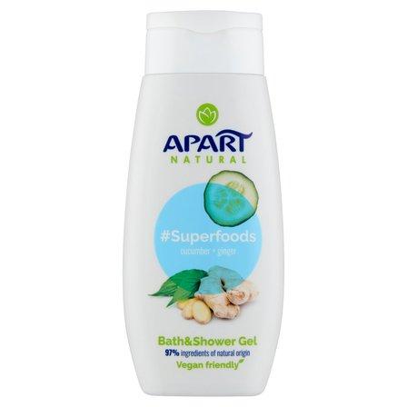 APART Natural Superfoods Cucumber & Ginger Żel pod prysznic i do kąpieli (1)
