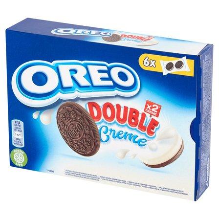 OREO Double Ciastka kakaowe z nadzieniem o smaku waniliowym (12 szt.) (1)