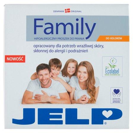JELP Family Hipoalergiczny proszek do prania do kolorów 2,24 kg (32 prań) (2)