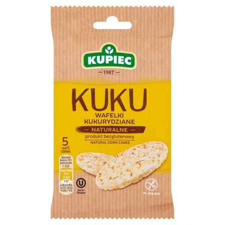 KUPIEC Kuku Wafelki kukurydziane naturalne (5 sztuk) (1)