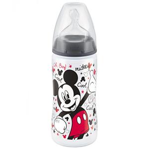 NUK First Choice Butelka 6-18m 300 ml Myszka Miki (3)