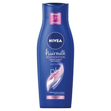 NIVEA Hairmilk Łagodny szampon do włosów o strukturze cienkiej (1)