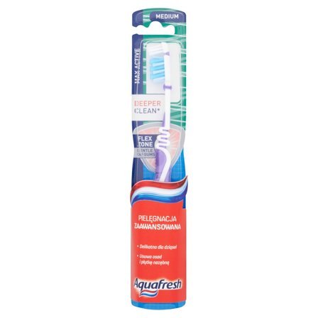 AQUAFRESH Max Active Szczoteczka do zębów Medium (1)