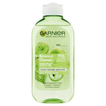 GARNIER Botanical Cleanser Ekstrakt z winogron Przywracający komfort tonik do skóry normalnej i mieszanej (1)