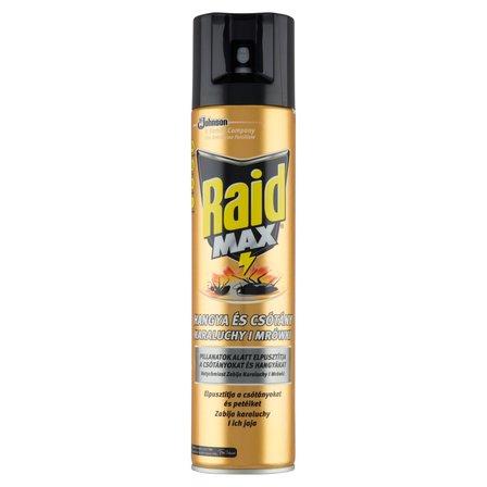 RAID Max Środek przeciw karaluchom i mrówkom w aerozolu (1)