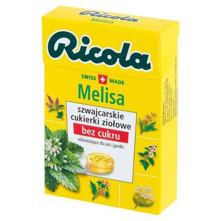 RICOLA Szwajcarskie cukierki ziołowe melisa (1)