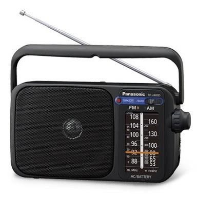 PANASONIC Radio sieciowo-bateryjne RF-2400DEG-K (1)