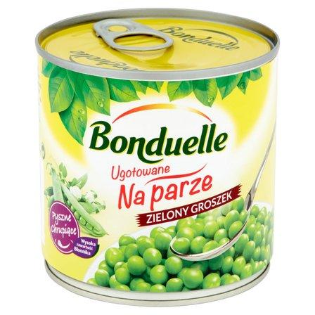 BONDUELLE Ugotowane na parze Zielony groszek (1)