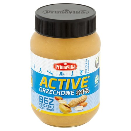 PRIMAVIKA  Active Pasta orzechowa bez dodatku soli i cukru (1)