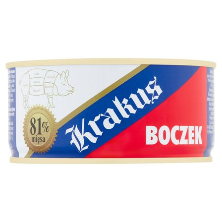 KRAKUS Boczek wieprzowy konserwa (2)