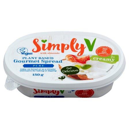 SIMPLY V Pasta kanapkowa na bazie migdałów (1)
