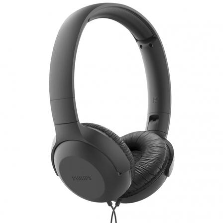 PHILIPS Słuchawki z mikrofonem TAUH201BK/00 czarne (1)