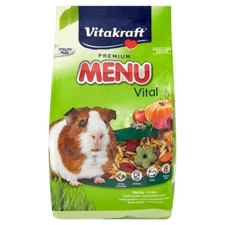 VITAKRAFT Menu + Vita Herbs Karma pełnoporcjowa dla świnek morskich (1)
