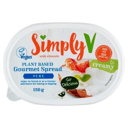 SIMPLY V Pasta kanapkowa na bazie migdałów (2)