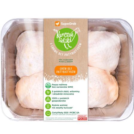 SUPERDROB Kurczak Sielski Udo z kurczaka (opak. ok. 550 g) (1)