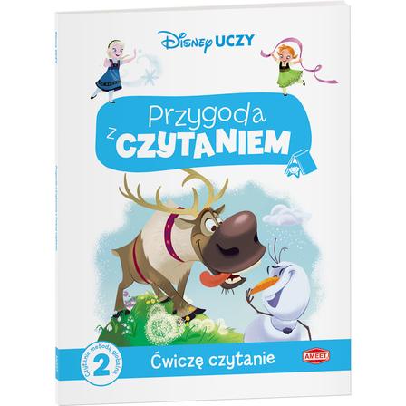 AMEET Disney Uczy. Przygoda z czytaniem. Ćwiczę czytanie. Kraina Lodu (1)