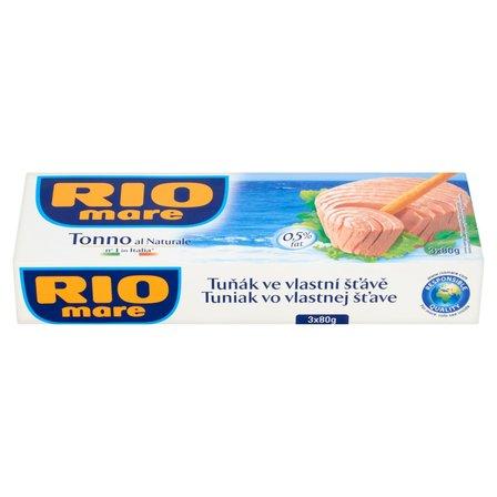 RIO MARE Tuńczyk w sosie własnym (3 x 80 g) (1)