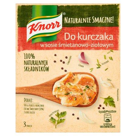 KNORR Do kurczaka w sosie śmietanowo-ziołowym (1)