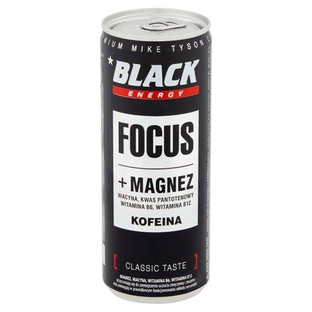 Black Energy Focus Gazowany napój energetyzujący (1)
