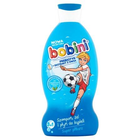 BOBINI 3w1 Szampon żel i płyn do kąpieli Super piłkarz (1)