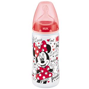 NUK First Choice Butelka 6-18m 300 ml Myszka Miki (2)