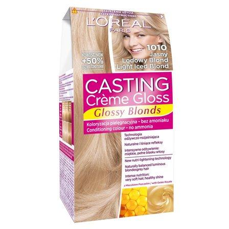 L'OREAL Paris Casting Creme Gloss Farba do włosów 1010 Jasny lodowy blond (1)