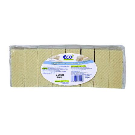 ECO+ Wafle z kremem o smaku śmietankowym (1)
