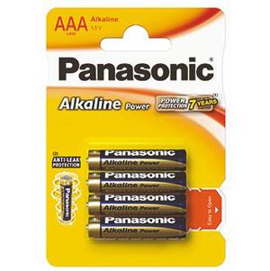 PANASONIC Alkaline Power Baterie LR03/AAA (1)