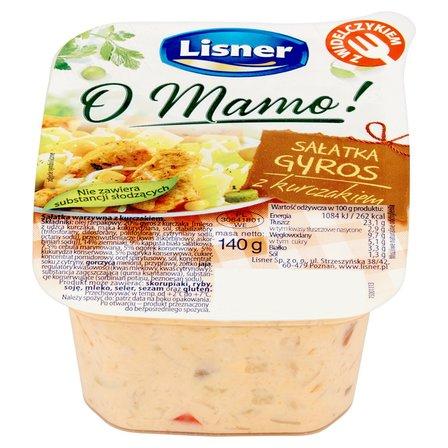 LISNER O Mamo! Sałatka gyros z kurczakiem (1)